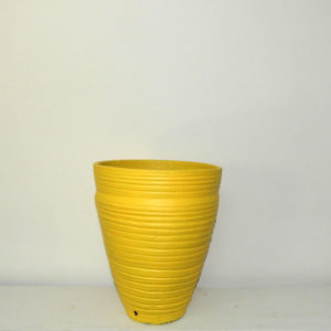 Pot Curved Cone Ridged (XL)