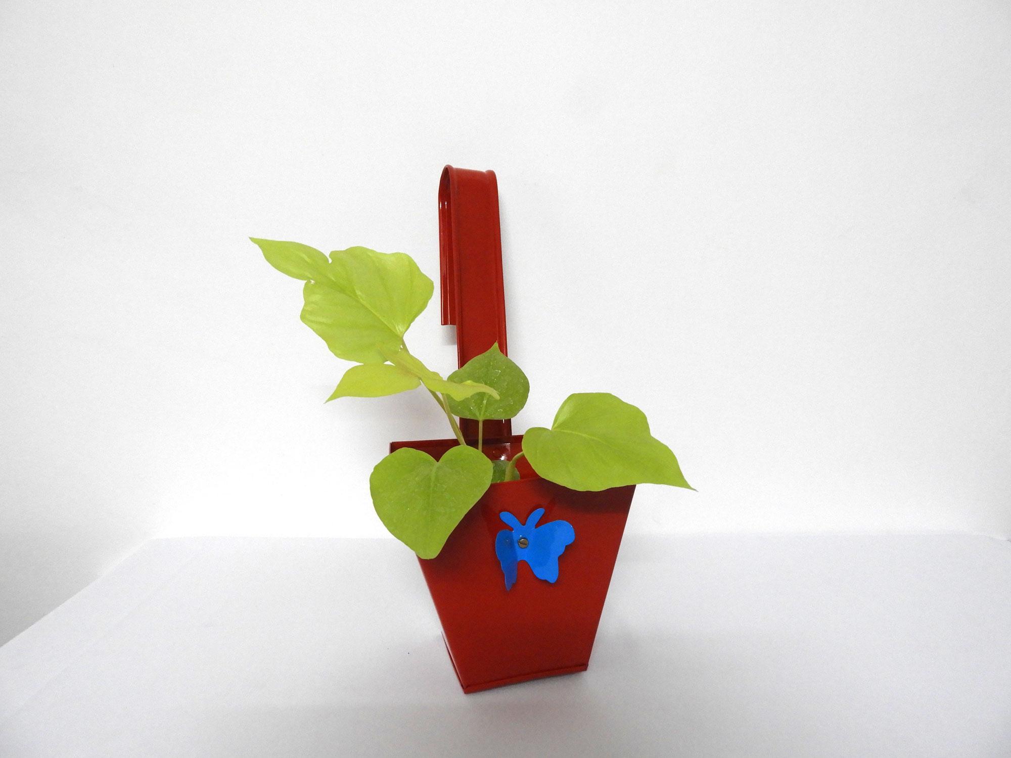 GI Planter Bracket Slab with Butterfly (L)