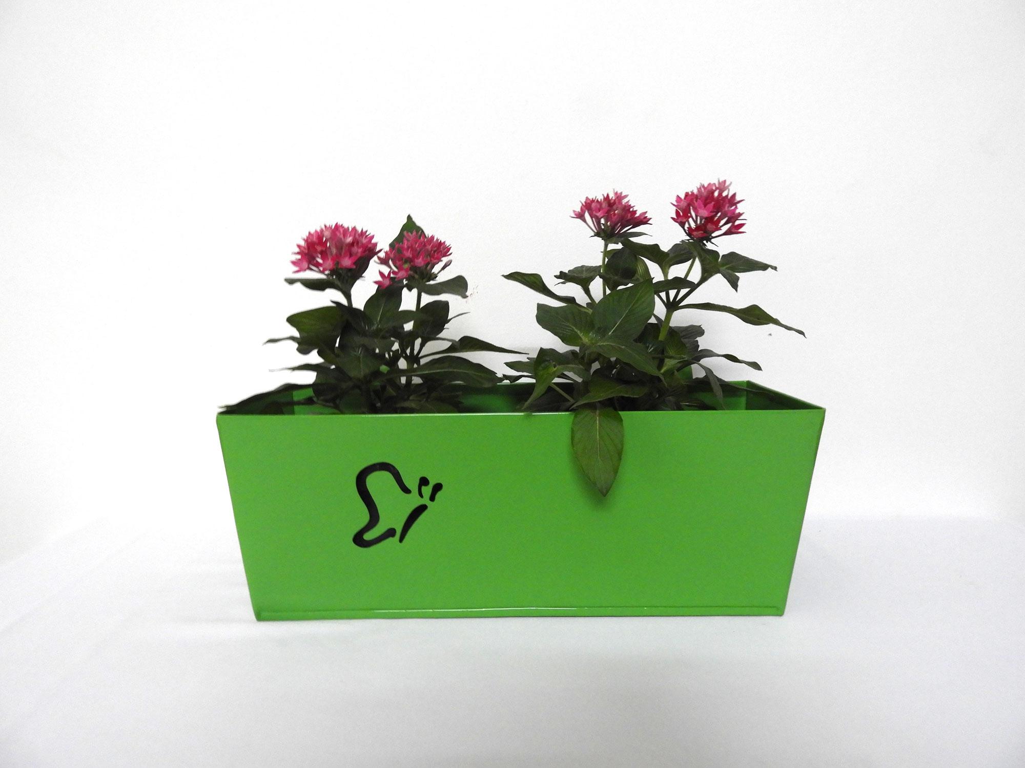 GI Railing planter HalfButterfly (L)
