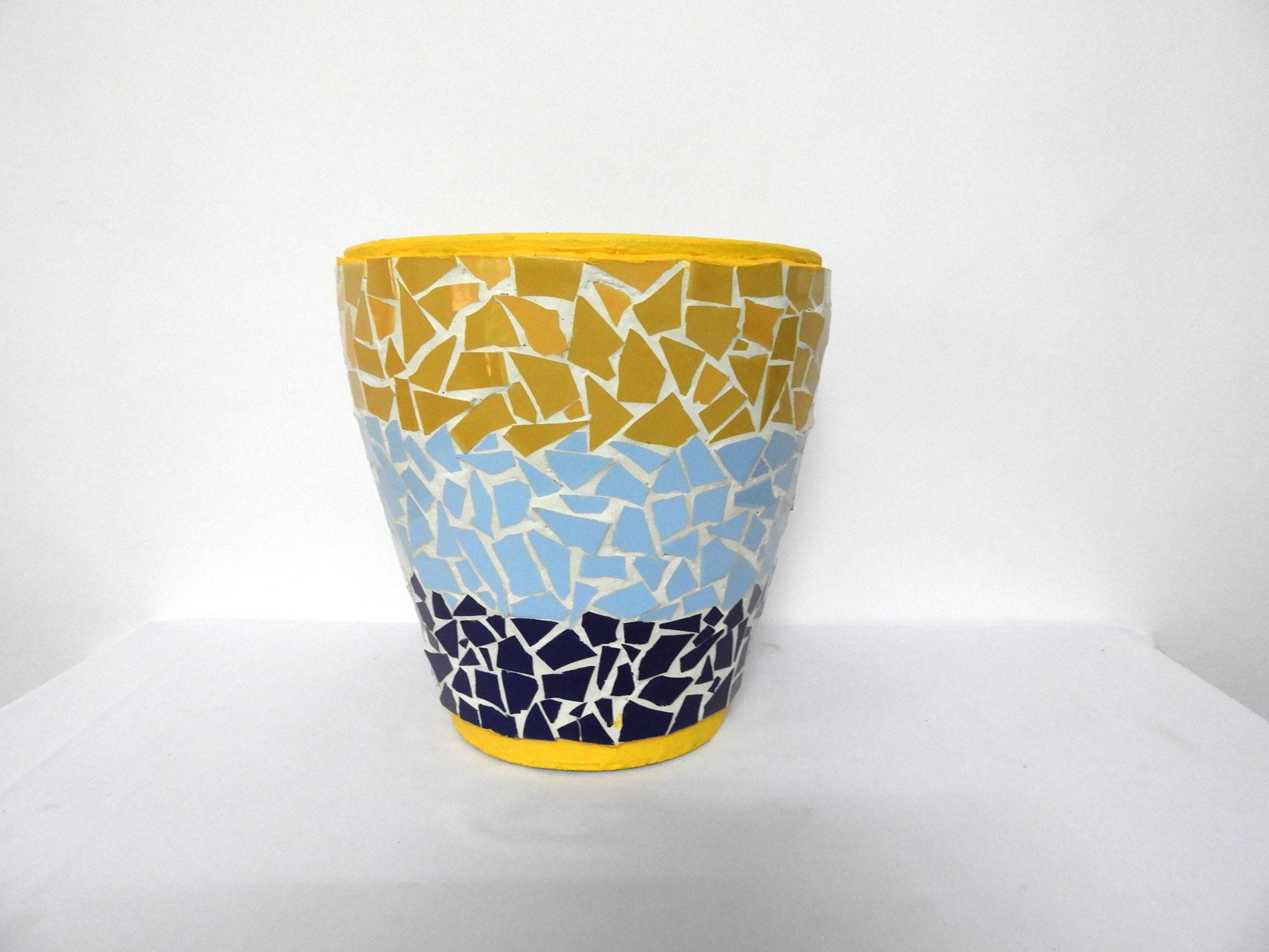 Mosaic Pot Cone (M) Pattern 1