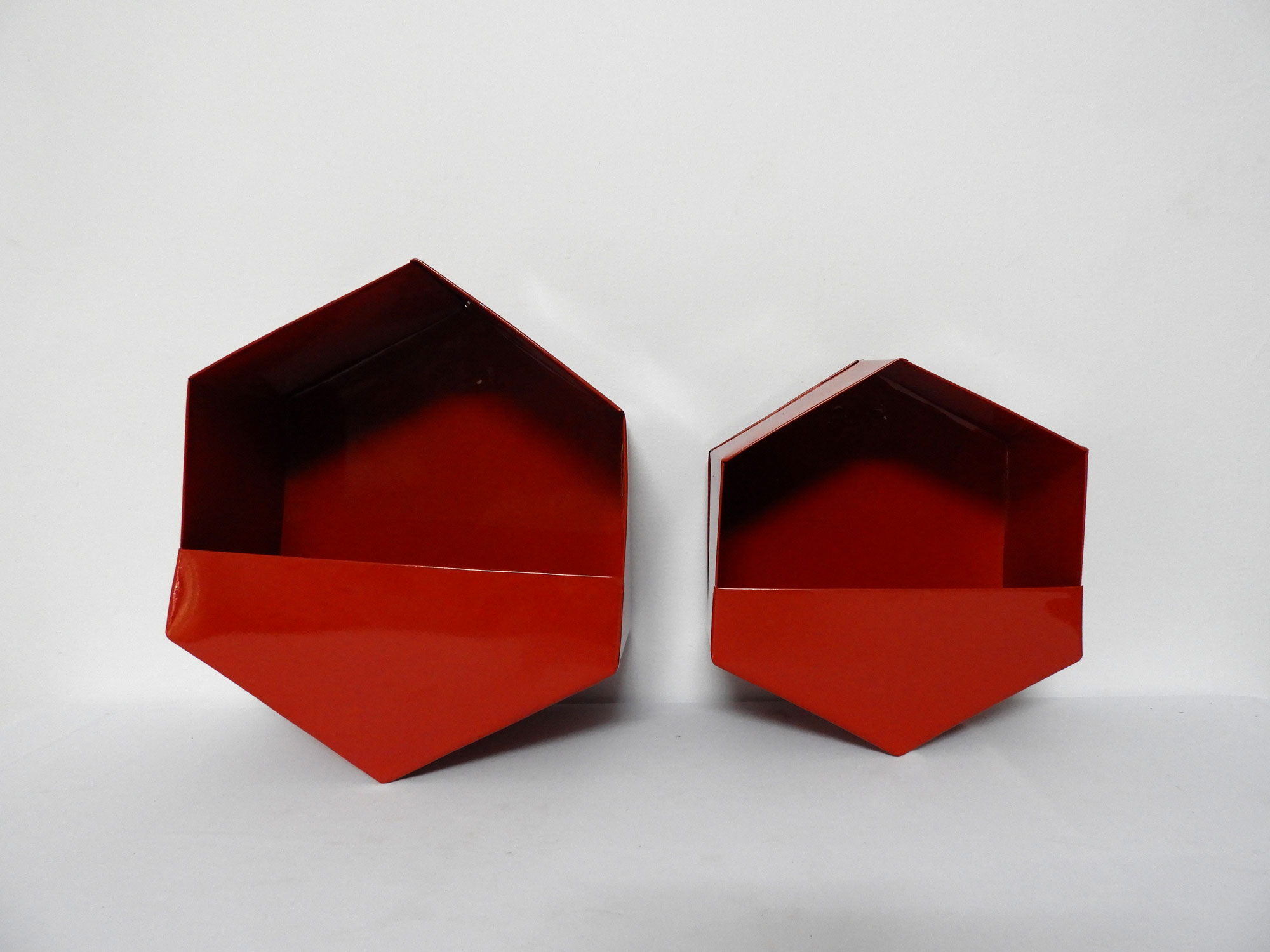 GI Planter Hexagonal (M)