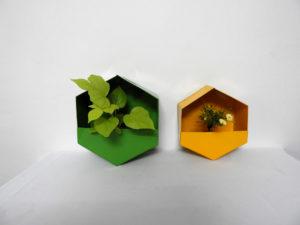 GI Planter Hexagonal (S)
