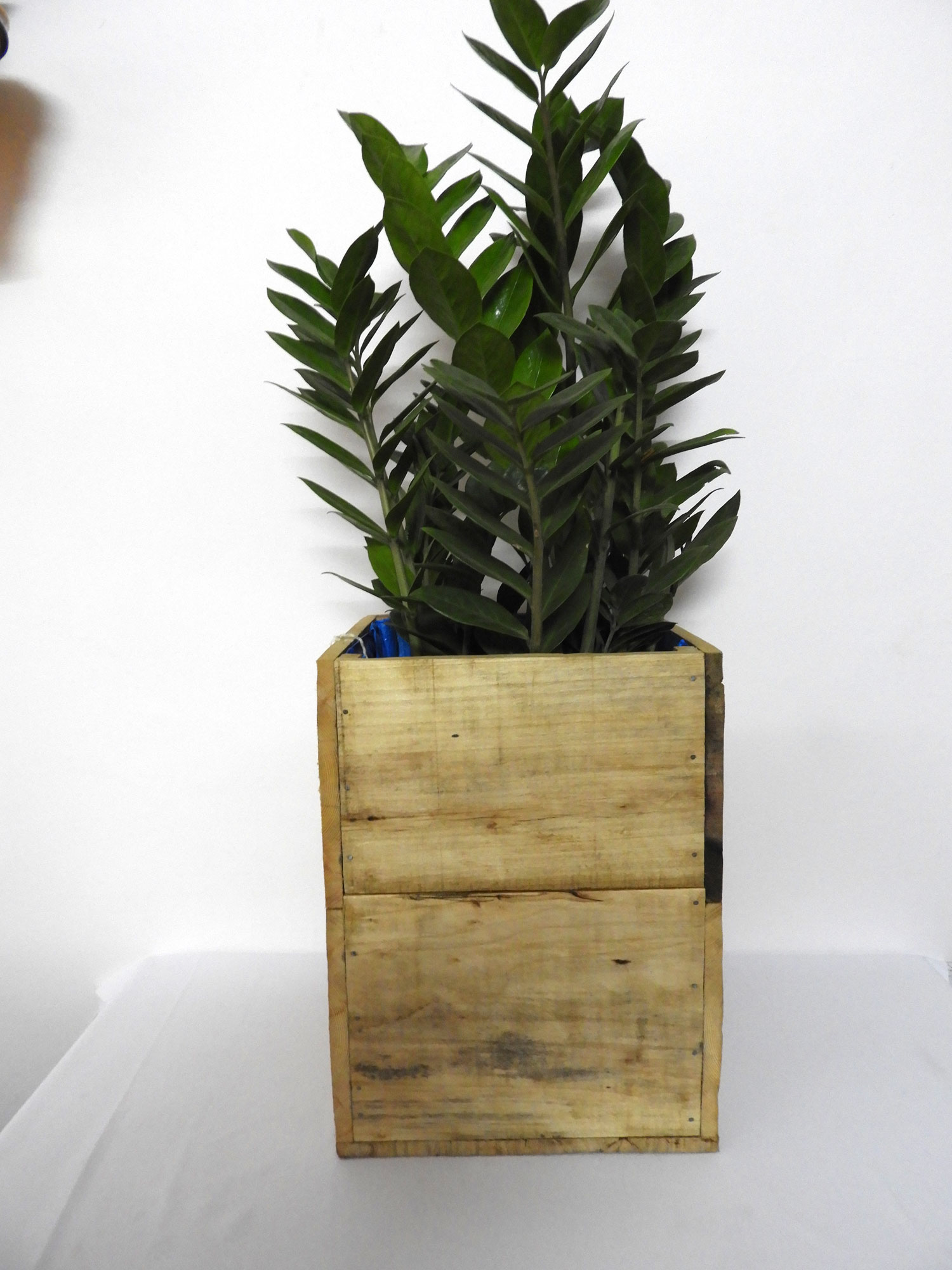 WoodSquarePlanter(M)