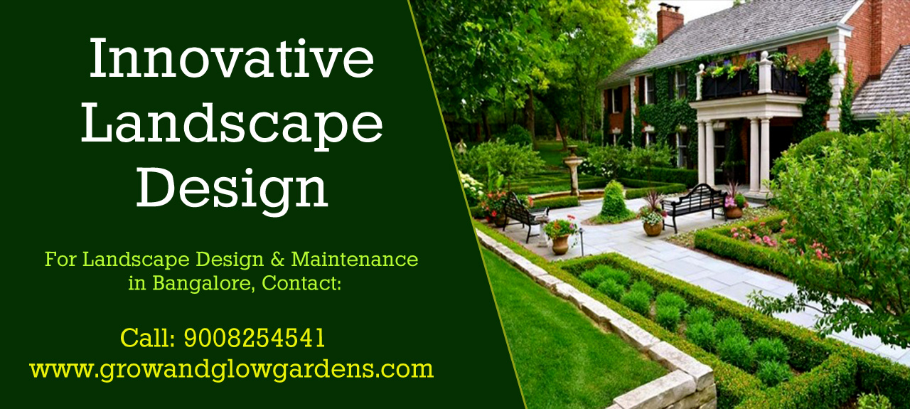 landscape design and maintenance in bangalore