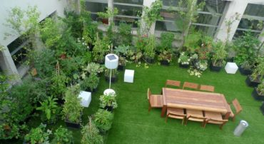 Roof Garden Design In Bangalore