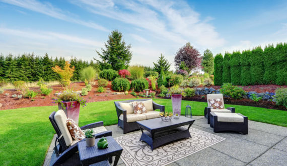grow and glow gardens - front yard and back yard landscape design in yelahanka judicial layout bangalore